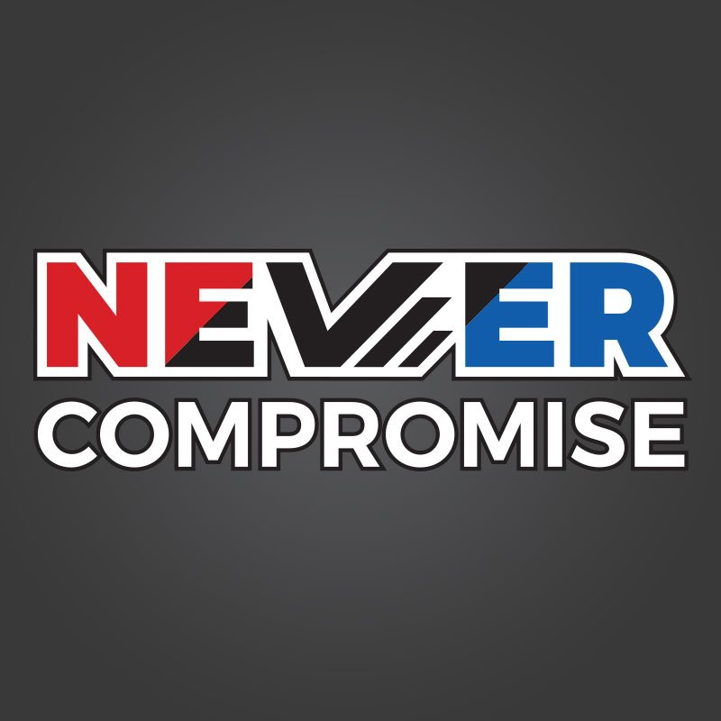Never Compromise Logo